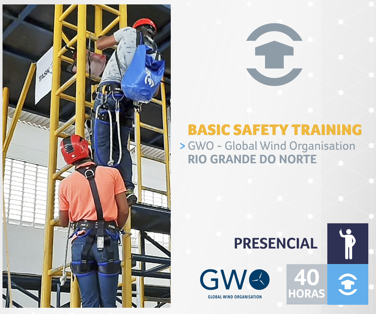 GWO - BASIC SAFETY TRAINING - Rio Grande do Norte