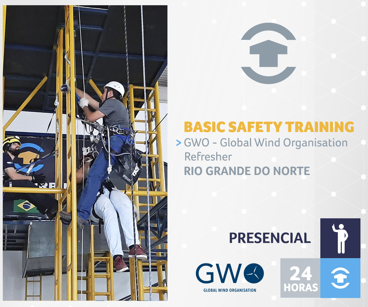 GWO - BASIC SAFETY TRAINING REFRESHER - Rio Grande do Norte