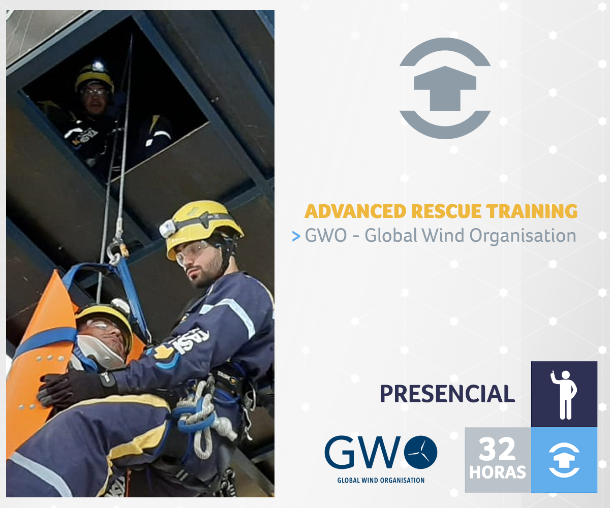 GWO - ADVANCED RESCUE TRAINING - Rio Grande do Norte